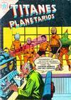 Cover for Titanes Planetarios (Editorial Novaro, 1953 series) #48