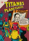 Cover for Titanes Planetarios (Editorial Novaro, 1953 series) #50