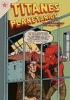 Cover for Titanes Planetarios (Editorial Novaro, 1953 series) #53