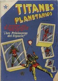 Cover Thumbnail for Titanes Planetarios (Editorial Novaro, 1953 series) #13