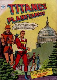 Cover Thumbnail for Titanes Planetarios (Editorial Novaro, 1953 series) #14