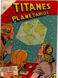 Cover Thumbnail for Titanes Planetarios (Editorial Novaro, 1953 series) #24