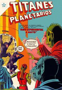 Cover Thumbnail for Titanes Planetarios (Editorial Novaro, 1953 series) #27