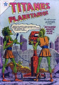 Cover Thumbnail for Titanes Planetarios (Editorial Novaro, 1953 series) #33