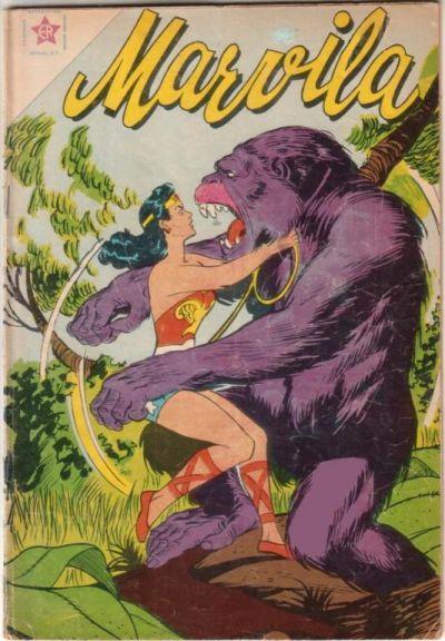 Cover for Marvila, la Mujer Maravilla (Editorial Novaro, 1955 series) #40
