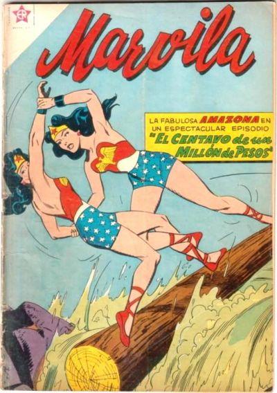 Cover for Marvila, la Mujer Maravilla (Editorial Novaro, 1955 series) #43