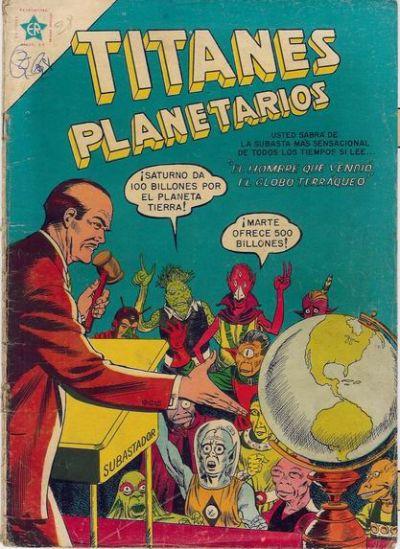 Cover for Titanes Planetarios (Editorial Novaro, 1953 series) #28