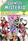 Cover for Cuentos de Misterio (Editorial Novaro, 1960 series) #95