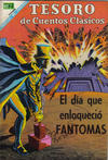 Cover for Tesoro de Cuentos Clásicos (Editorial Novaro, 1957 series) #129
