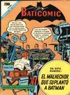 Cover for Baticomic (Editorial Novaro, 1968 series) #9
