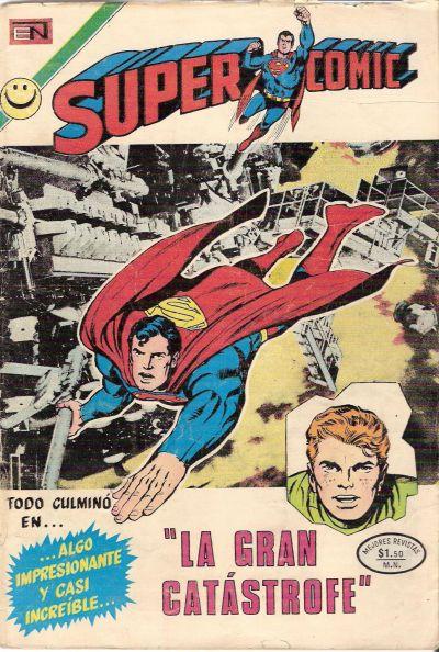 Cover for Supercomic (Editorial Novaro, 1967 series) #66