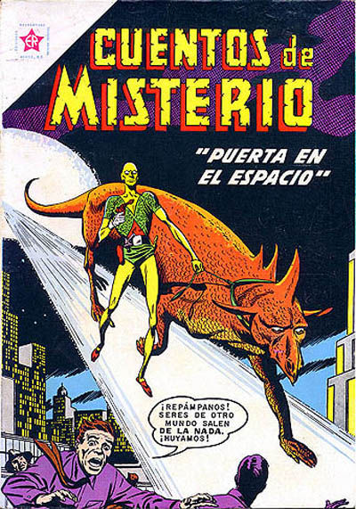 Cover for Cuentos de Misterio (Editorial Novaro, 1960 series) #16