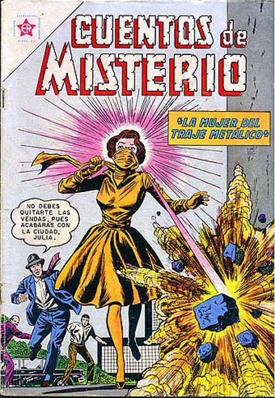 Cover for Cuentos de Misterio (Editorial Novaro, 1960 series) #29