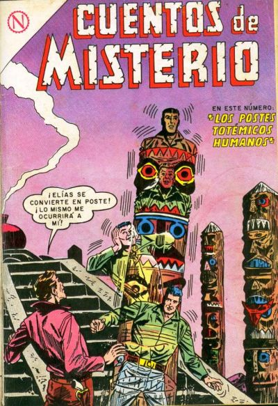 Cover for Cuentos de Misterio (Editorial Novaro, 1960 series) #43