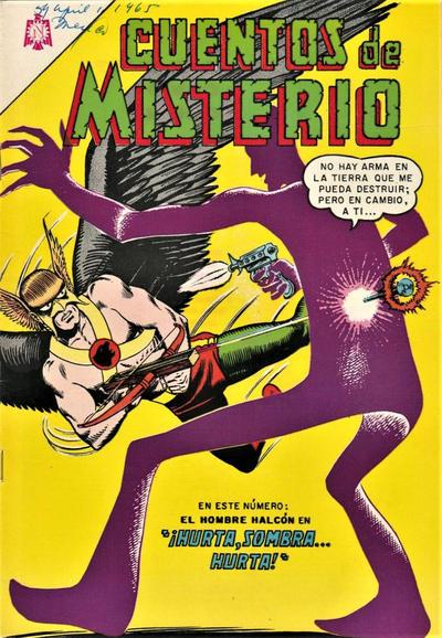 Cover for Cuentos de Misterio (Editorial Novaro, 1960 series) #59