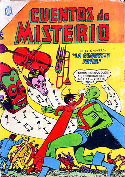 Cover for Cuentos de Misterio (Editorial Novaro, 1960 series) #61