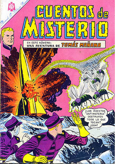 Cover for Cuentos de Misterio (Editorial Novaro, 1960 series) #62