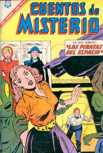 Cover for Cuentos de Misterio (Editorial Novaro, 1960 series) #96