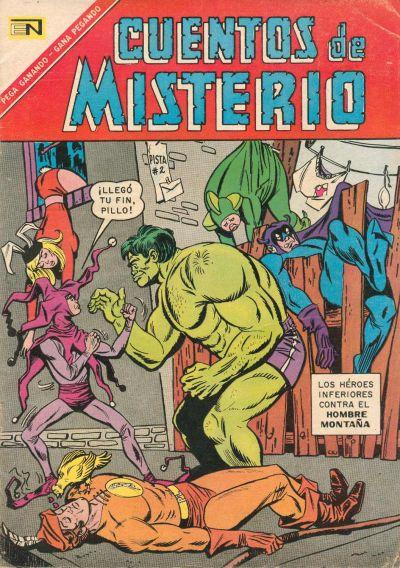 Cover for Cuentos de Misterio (Editorial Novaro, 1960 series) #104