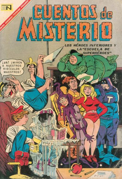 Cover for Cuentos de Misterio (Editorial Novaro, 1960 series) #112