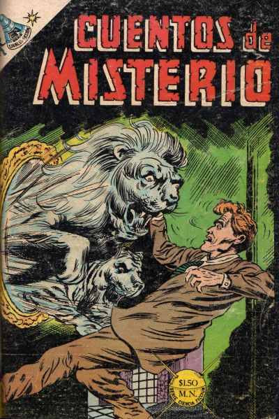Cover for Cuentos de Misterio (Editorial Novaro, 1960 series) #128