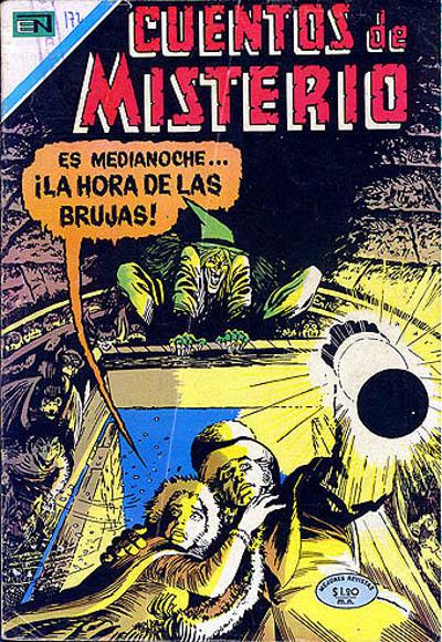 Cover for Cuentos de Misterio (Editorial Novaro, 1960 series) #172