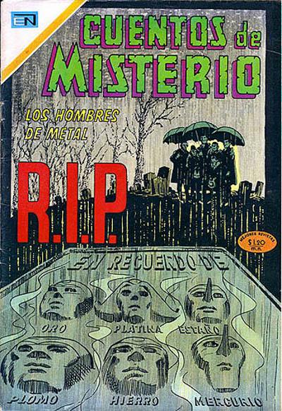 Cover for Cuentos de Misterio (Editorial Novaro, 1960 series) #188