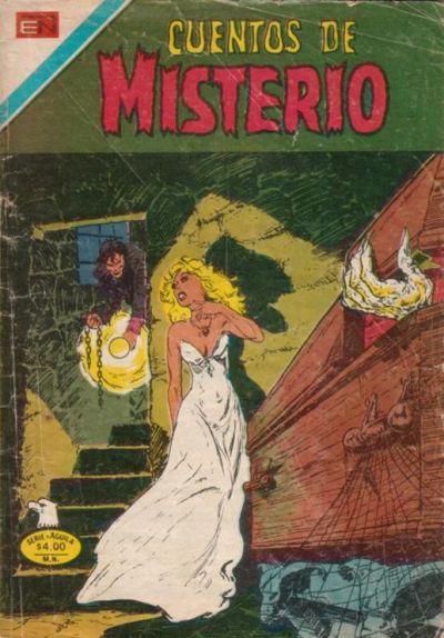 Cover for Cuentos de Misterio (Editorial Novaro, 1960 series) #255