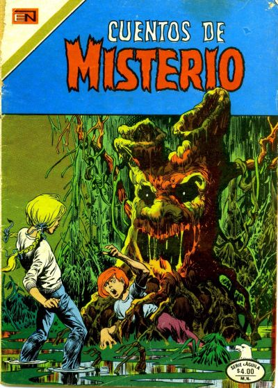 Cover for Cuentos de Misterio (Editorial Novaro, 1960 series) #269