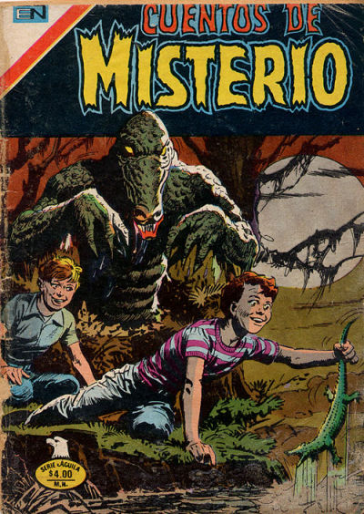 Cover for Cuentos de Misterio (Editorial Novaro, 1960 series) #273