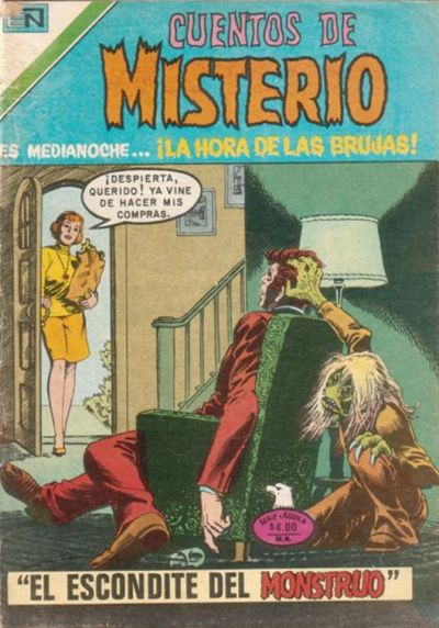 Cover for Cuentos de Misterio (Editorial Novaro, 1960 series) #297