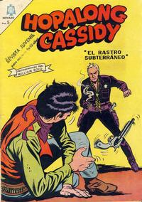 Cover Thumbnail for Hopalong Cassidy (Editorial Novaro, 1952 series) #137