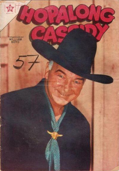 Cover for Hopalong Cassidy (Editorial Novaro, 1952 series) #13