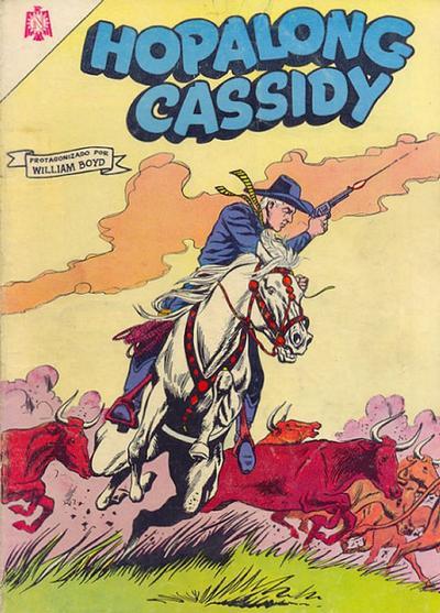 Cover for Hopalong Cassidy (Editorial Novaro, 1952 series) #123