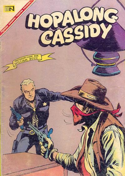Cover for Hopalong Cassidy (Editorial Novaro, 1952 series) #150