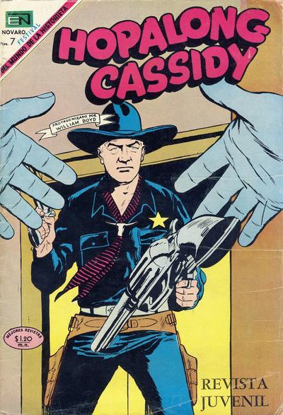 Cover for Hopalong Cassidy (Editorial Novaro, 1952 series) #179