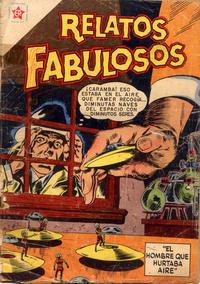 Cover Thumbnail for Relatos Fabulosos (Editorial Novaro, 1959 series) #2