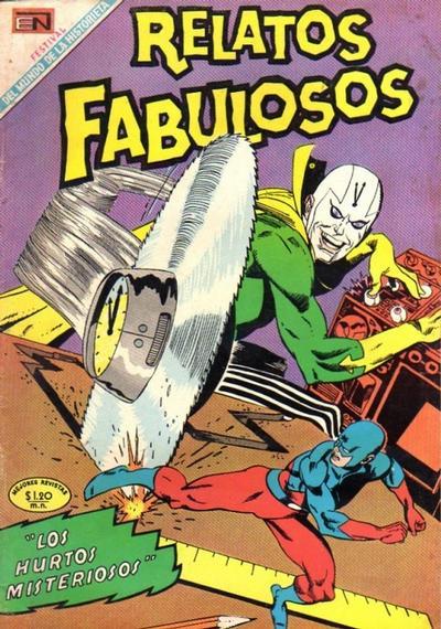 Cover for Relatos Fabulosos (Editorial Novaro, 1959 series) #120