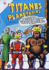 Cover for Titanes Planetarios (Editorial Novaro, 1953 series) #4