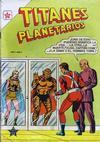 Cover for Titanes Planetarios (Editorial Novaro, 1953 series) #6