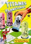 Cover for Titanes Planetarios (Editorial Novaro, 1953 series) #8