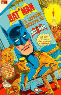 Cover Thumbnail for Batman, Serie Avestruz (Editorial Novaro, 1980 series) #6