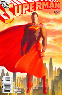 Cover for Superman (DC, 2006 series) #675