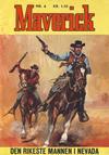 Cover for Maverick (Illustrerte Klassikere / Williams Forlag, 1964 series) #6