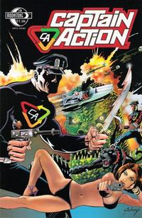 Cover Thumbnail for Captain Action Comics (Moonstone, 2008 series) #0