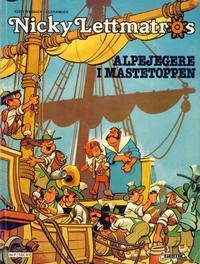 Cover Thumbnail for Nicky Lettmatros (Semic, 1980 series) #1 - Alpejegere i mastetoppen