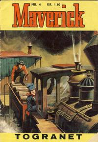 Cover Thumbnail for Maverick (Illustrerte Klassikere / Williams Forlag, 1964 series) #4