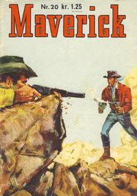 Cover Thumbnail for Maverick (Illustrerte Klassikere / Williams Forlag, 1964 series) #20