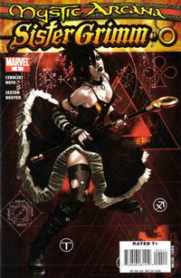 Cover Thumbnail for Mystic Arcana: Sister Grimm (Marvel, 2008 series) #1