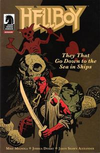 Cover Thumbnail for Hellboy: They That Go Down to the Sea in Ships (Dark Horse, 2007 series)